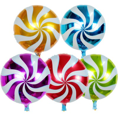 Lollipop Candy Foil Balloons - 5 Pack
