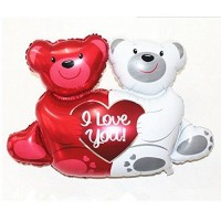 Giant Teddy Bears Foil Balloons