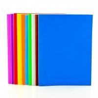 A5 Plain Foam Craft Sheets - 10 Pack
